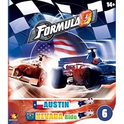 Thème : Véhicules Jeux de Plateau Formula D : Austin / Nevada Ride