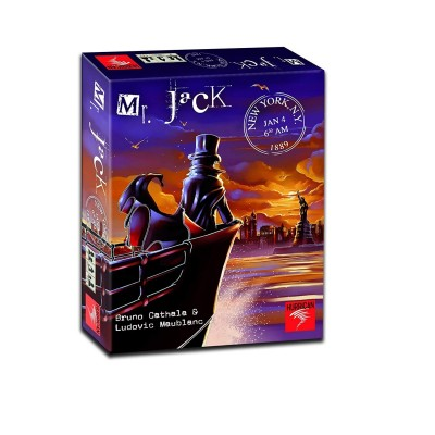 Autres jeux de plateau Jeux de Plateau Mr Jack - New york