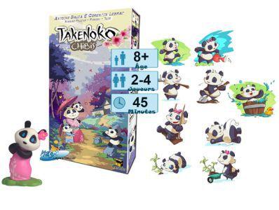 Autres jeux de plateau Jeux de Plateau Takenoko - Chibis