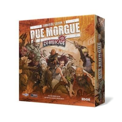 Autres jeux de plateau Jeux de Plateau Zombicide - Saison 3 - Rue Morgue (en Français)