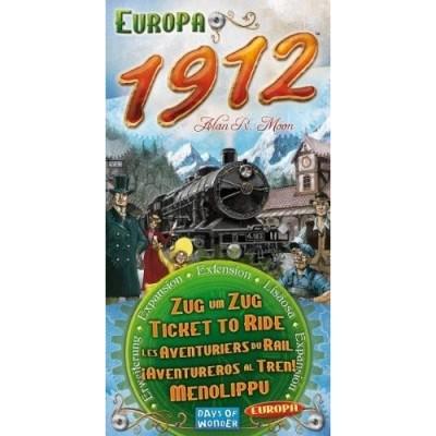 Thème : Véhicules Jeux de Plateau Les Aventuriers Du Rail - Europe - Extension 1912