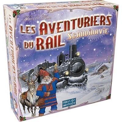 Thème : Véhicules Jeux de Plateau Les Aventuriers Du Rail - Scandinavie