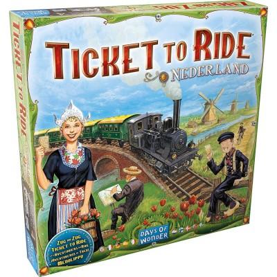 Thème : Véhicules Jeux de Plateau Les Aventuriers Du Rail - Europe - Pays Bas