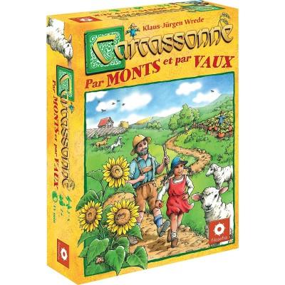 Carcassonne Jeux de Plateau Carcassonne - Par Monts Et Par Vaux