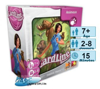 Cardline Petits Jeux Cardline - Animaux 2