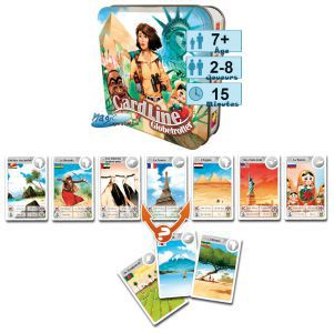 Cardline Petits Jeux Cardline - Globetrotter