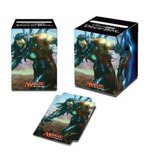 Boites de rangement illustrées Accessoires Pour Cartes Commander 2015 - Deck Box - Ezuri, griffe du progrès