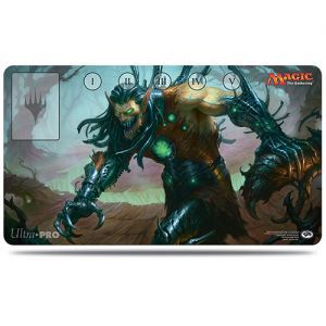 Tapis de Jeu Magic the Gathering Playmat - Commander 2015 - Ezuri, griffe du progrès
