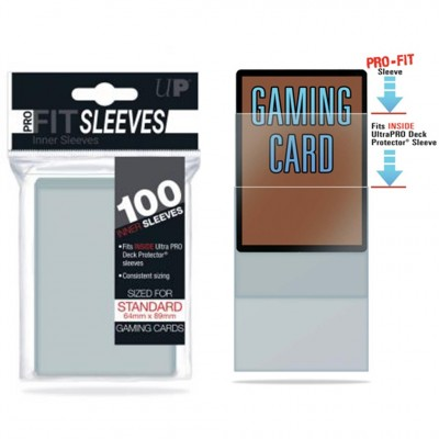 Protèges Cartes  100 pochettes - Pro Fit