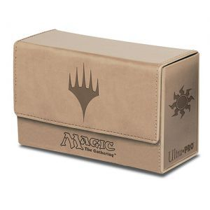 Boite de rangement illustrée Magic the Gathering Deck Box - Double Flip - Mana Blanc
