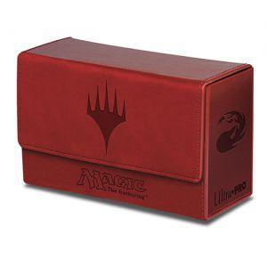 Boites de rangement illustrées Accessoires Pour Cartes Deck Box Double Flip - Mana Rouge