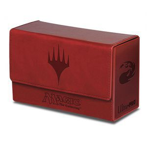 Boite de rangement illustrée Magic the Gathering Deck Box Double Flip - Mana Rouge