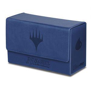 Boites de rangement illustrées Accessoires Pour Cartes Deck Box - Double Flip - Mana Bleu Ile