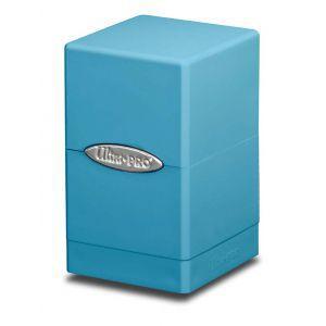 Boites de Rangements Accessoires Pour Cartes Satin Tower - Bleu Clair