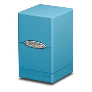 Boites de Rangements  Satin Tower - Bleu Clair