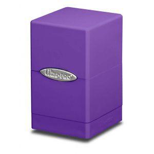 Boites de Rangements Accessoires Pour Cartes Satin Tower - Violet