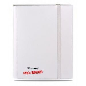 Classeurs et Portfolios Accessoires Pour Cartes Portfolio Ultra Pro - A4 Classeur Pro-Binder - Blanc / Blanc
