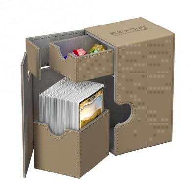 Boites de Rangements Accessoires Pour Cartes Deck Box Ultimate Guard - Sable - T2 - Acc