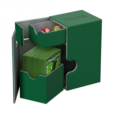 Boites de Rangements Accessoires Pour Cartes Deck Box Ultimate Guard - Vert - T2 - Acc