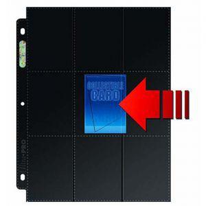 Classeurs et Portfolios Accessoires Pour Cartes Lot De 50 Feuilles De Classeur - Side Load - 18 Cases
