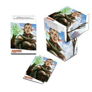 Boites de rangement illustrées  Le Serment des Sentinelles - Deck Box - Nissa