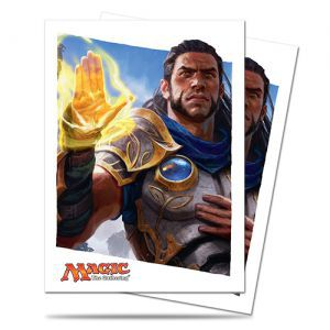Protèges Cartes illustrées Magic the Gathering Le Serment des Sentinelles - 80 Pochettes - Gideon