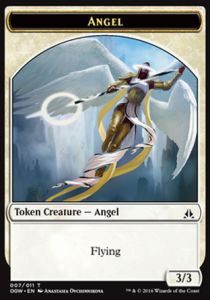 Tokens Magic Magic the Gathering Token/Jeton - Serment Des Sentinelles-ange