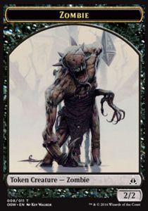 Tokens Magic Token/Jeton - Serment Des Sentinelles-zombie