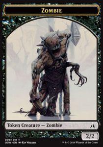 Tokens Magic Accessoires Pour Cartes Token/Jeton - Serment Des Sentinelles-zombie