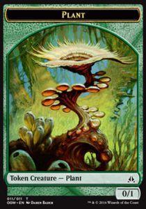 Tokens Magic Accessoires Pour Cartes Token/Jeton - Serment Des Sentinelles-plante