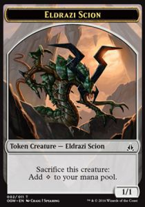 Tokens Magic Magic the Gathering Token/Jeton - Serment Des Sentinelles-eldrazi Et Scion 2/11