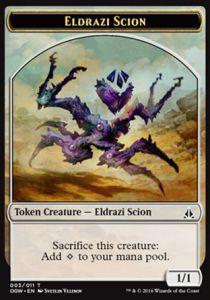 Tokens Magic Magic the Gathering Token/Jeton - Serment Des Sentinelles-eldrazi Et Scion 3/11