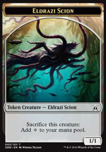 Token Magic Token/Jeton - Serment Des Sentinelles-eldrazi Et Scion 5/11
