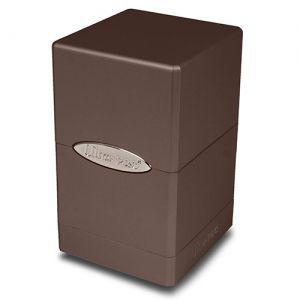 Boites de Rangements Accessoires Pour Cartes Satin Tower - Dark Chocolate Metallic
