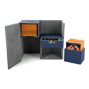 Boites de Rangements Accessoires Pour Cartes Deck Box Ultimate Guard - Double 160 - Bleu - T3 - Acc