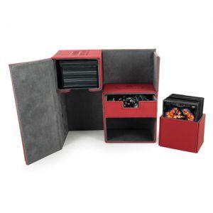 Boites de Rangements Accessoires Pour Cartes Deck Box Ultimate Guard - Double 160 - Rouge - T3 - Acc