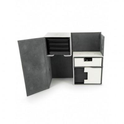 Boites de Rangements Accessoires Pour Cartes Deck Box Ultimate Guard - Double 160 - Blanc - T3 - Acc