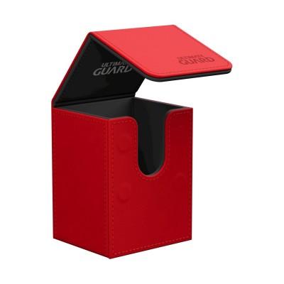 Boites de Rangements Flip Deck Case 80+ - Rouge