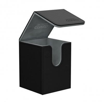 Boites de Rangements Accessoires Pour Cartes Deck Box Ultimate Guard - Skin - Noir - T1+