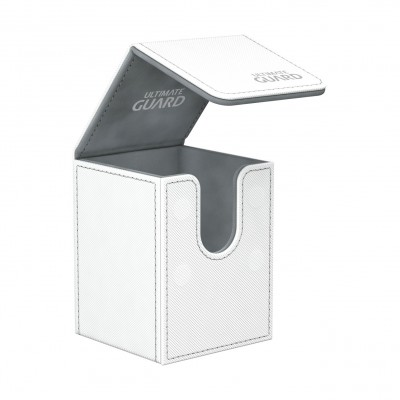 Boites de Rangements Flip Deck Case 100+ - XenoSkin - Blanc