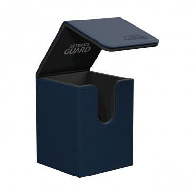 Boites de Rangements Accessoires Pour Cartes Flip Deck Case 100+ - Bleu Marine