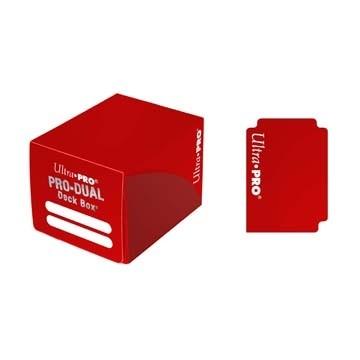 Boites de Rangements Accessoires Pour Cartes Pro Dual 120 - Rouge