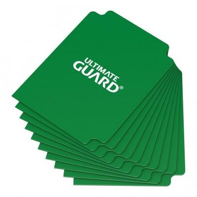 Boites de Rangements Accessoires Pour Cartes Deck Dividers - 10 Séparateurs De Cartes - Vert