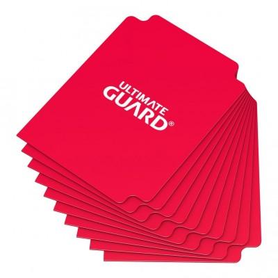 Boites de Rangements Accessoires Pour Cartes Deck Dividers Ultimate Guard - 10 Séparateurs De Cartes - Rouge - Acc