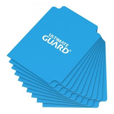 Boites de Rangements  Deck Dividers Ultimate Guard - 10 Séparateurs De Cartes - Bleu Clair - Acc