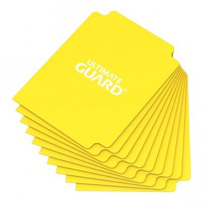 Boites de Rangements Accessoires Pour Cartes Deck Dividers Ultimate Guard - 10 Séparateurs De Cartes - Jaune - Acc