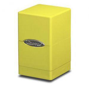 Boites de Rangements Accessoires Pour Cartes Satin Tower - Jaune