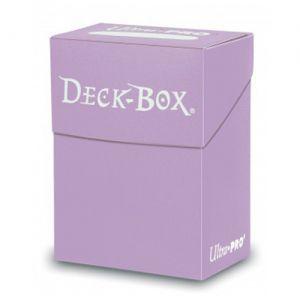 Boites de Rangements Accessoires Pour Cartes Deck Box Ultra Pro Polydeck - Lila