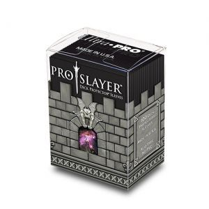 Protèges Cartes  100 pochettes - Pro-Slayer - Noir