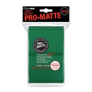 Protèges Cartes  100 pochettes - Pro Matte - Vert